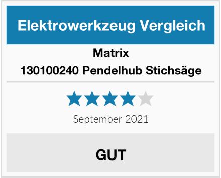 Matrix 130100240 Pendelhub Stichsäge Test