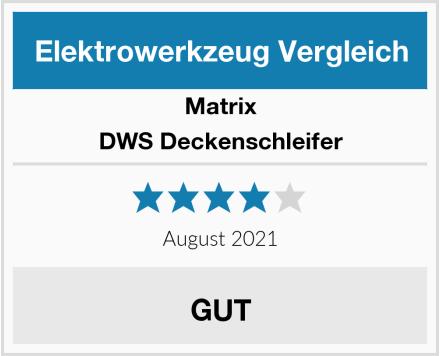 Matrix DWS Deckenschleifer Test