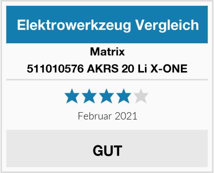 Matrix 511010576 AKRS 20 Li X-ONE Test
