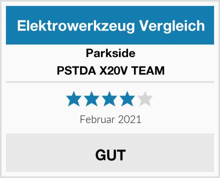Parkside PSTDA X20V TEAM Test