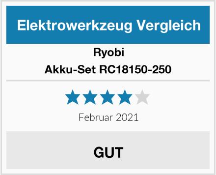 Ryobi Akku-Set RC18150-250 Test