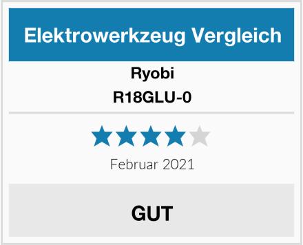 Ryobi R18GLU-0 Test