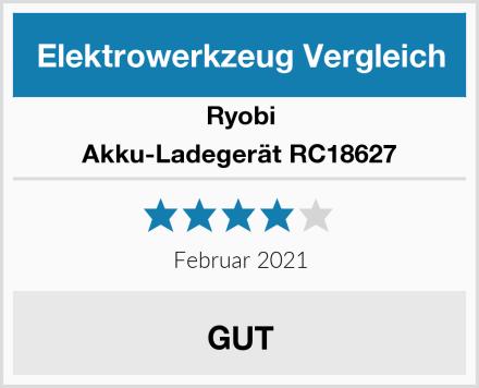 Ryobi Akku-Ladegerät RC18627 Test