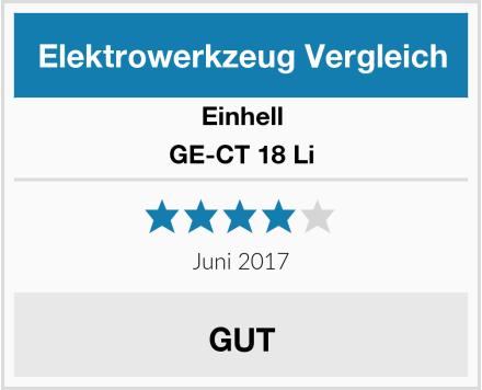 Einhell GE-CT 18 Li Test