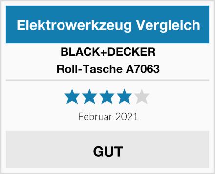 BLACK+DECKER Roll-Tasche A7063 Test