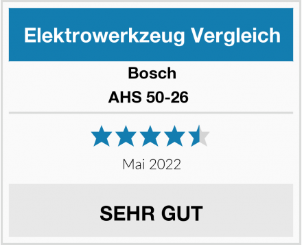 Bosch AHS 50-26  Test