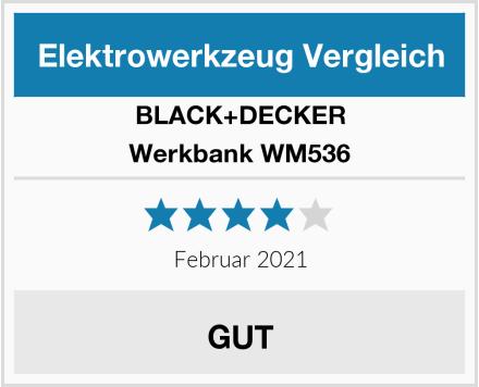 BLACK+DECKER Werkbank WM536 Test