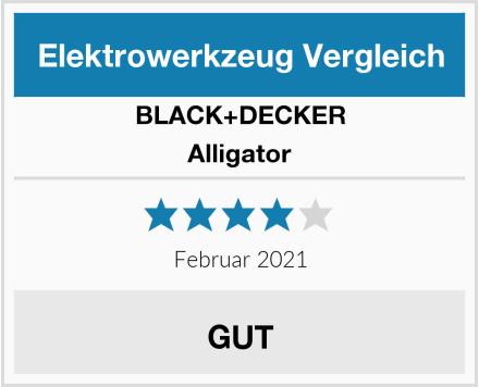 BLACK+DECKER Alligator Test