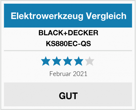 BLACK+DECKER KS880EC-QS Test