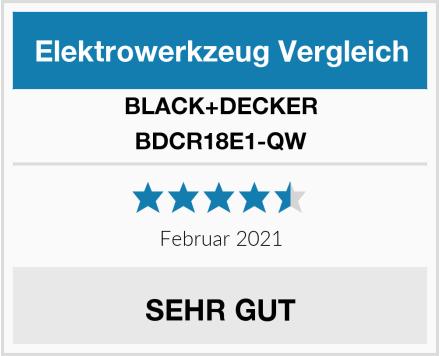 BLACK+DECKER BDCR18E1-QW Test