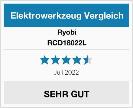 Ryobi RCD18022L Test