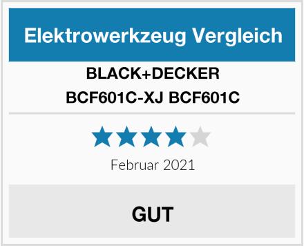 BLACK+DECKER BCF601C-XJ BCF601C Test