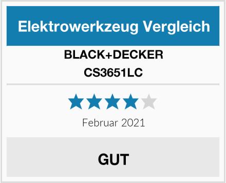 BLACK+DECKER CS3651LC Test