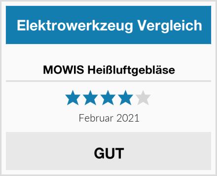 MOWIS Heißluftgebläse Test