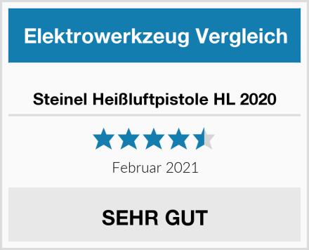 Steinel Heißluftpistole HL 2020 Test