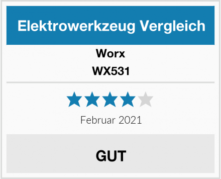 Worx WX531 Test