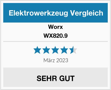 Worx WX820.9 Test