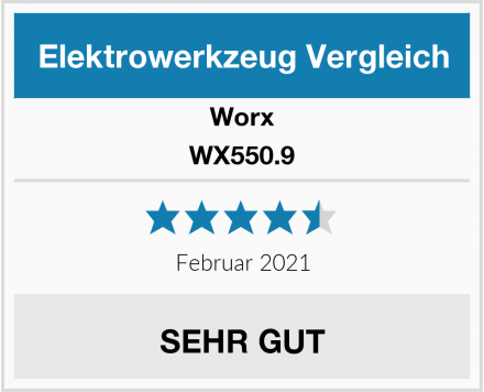 Worx WX550.9 Test