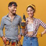 Elektrowerkzeuge für Frauen – eine bunte Auswahl
