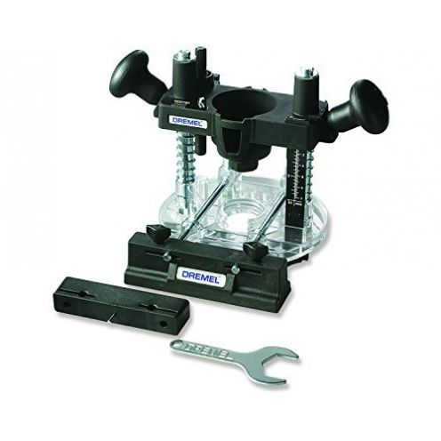 Dremel 335 Oberfräsen Aufsatz - Mini Bohrmaschine zum Fräsen