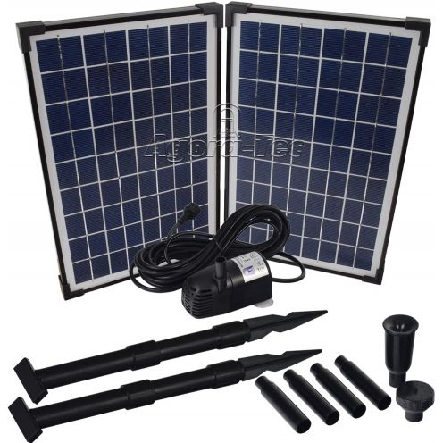 Agora-Tec AT-20W Solar Teichpumpe