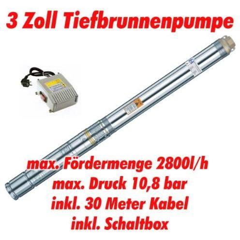 """Agora-Tec AT- 3"""" Brunnenpumpe"""
