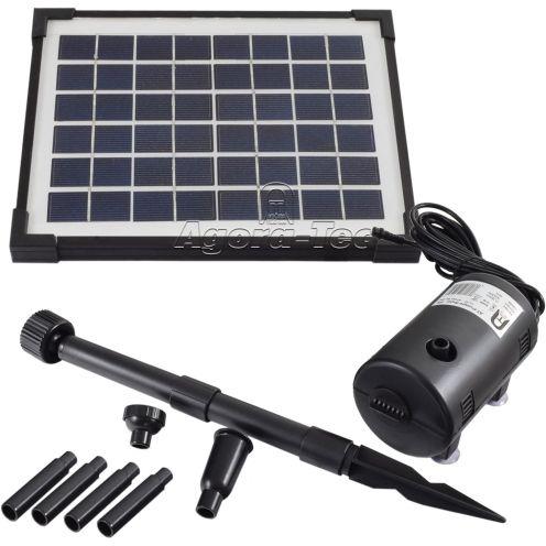 Agora-Tec AT-5W Solar Teichpumpe 5