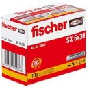 No Name Fischer Nylon-Dübel SX6 - 100 Stück